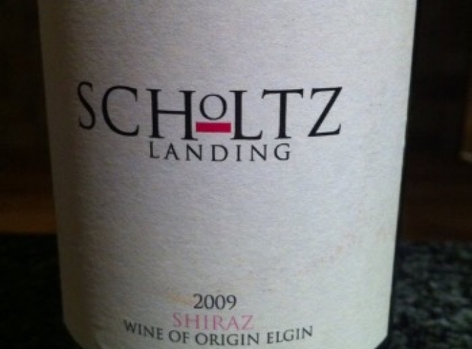 Scholtz Landing Shiraz 2009 Reviews